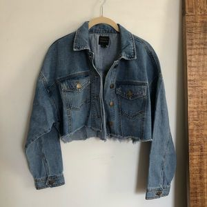 Cropped Denim jacket from F21